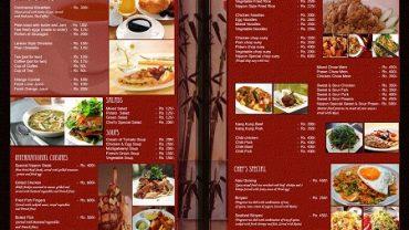 Thực đơn/menus