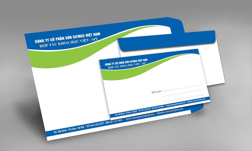 Dịch vụ in ấn bao thư giá rẻ Quận 12