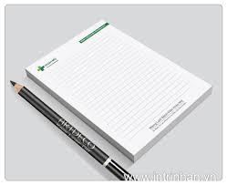 In ấn giấy ghi chú giá rẻ tại Huyện Bình Chánh TP.HCM