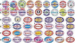 In tem liên tục / tem vỡ/ tem bảo hành giá rẻ tại Tp HCM