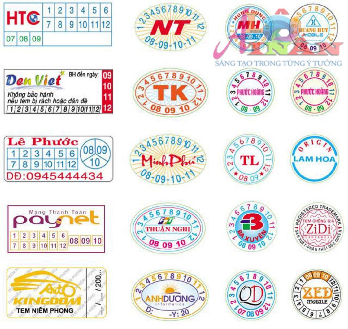 In tem vỡ decal giá rẻ tại Tp HCM