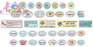 Một số mẫu tem bảo hành thông dụng