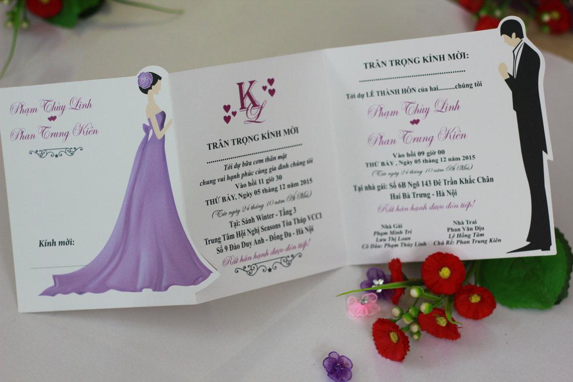 Xưởng in thiệp cưới giá rẻ quận Tân Bình Tphcm