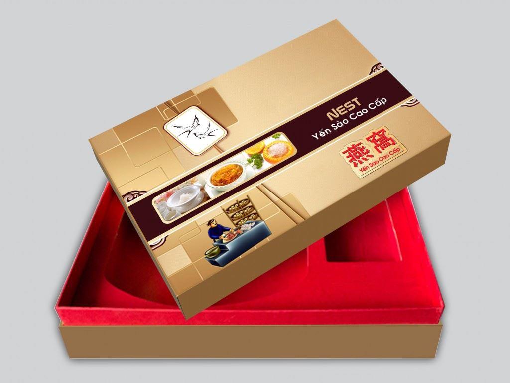 Các mẫu hộp cứng đựng quà tết 2019