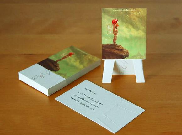 NHỮNG MẪU CARD VISIT ẤN TƯỢNG