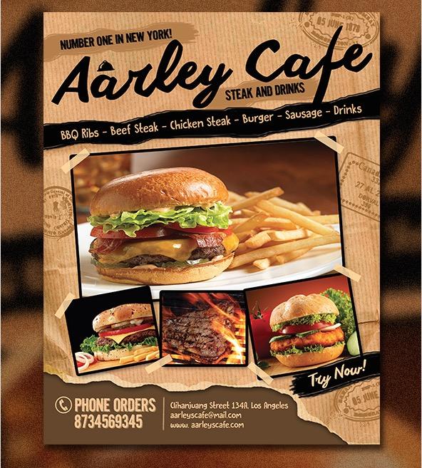 Các mẫu thiết kế menu nhà hàng ấn tượng